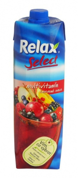 Relax multivitamin juice red fruit
