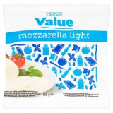mozzarella light Tesco