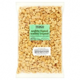 Peanuts shelled, blanched, roasted, unsalted Tesco