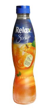 Relax orange syrup