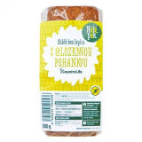 Gluten-free bread with whole grain buckwheat Nelepek Country Life