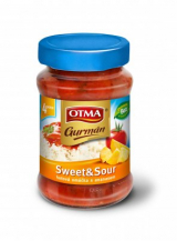 Sweet & Sour sauce with pineapple ready OTMA Gourmet