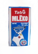 skimmed milk 1.5% fat durable Tatra
