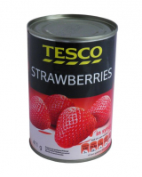 strawberries in a slightly sweet pickle Tesco