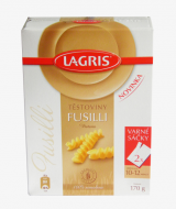Fusilli pasta spindle Lagris raw