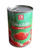 peeled chopped tomatoes in tomato juice