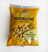 tortellini stuffed with cheese