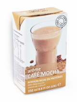 Mocha drink in a box Victus