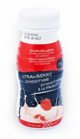 Milk smoothie with strawberry flavor Victus