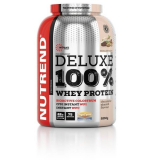 Deluxe 100% Whey Protein + chocolate almond, chocolate-hazelnut chocolate brownies Nutrend