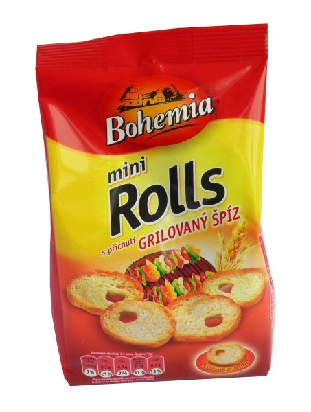 Bohemia Mini Rolls grilled skewers