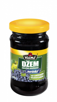apple blueberry blueberry jam with reduced sugar content Hame