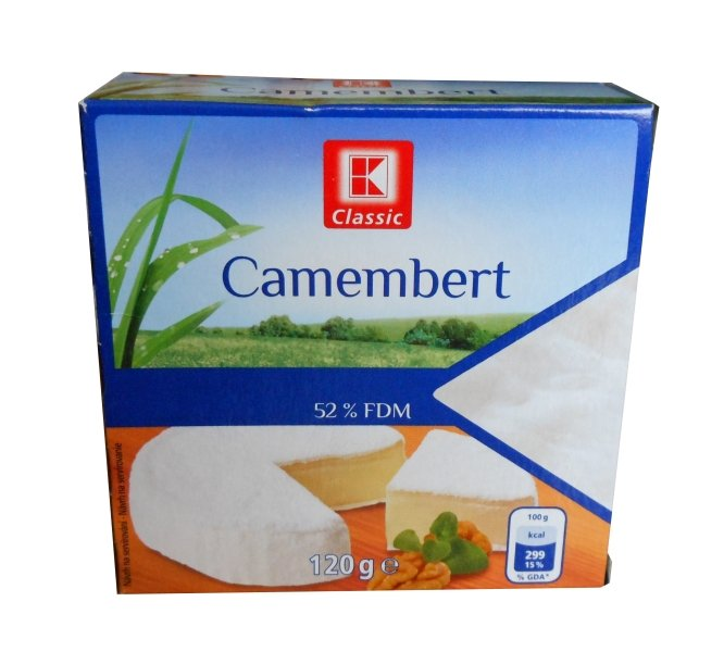For Camembert-Classic 52% fat