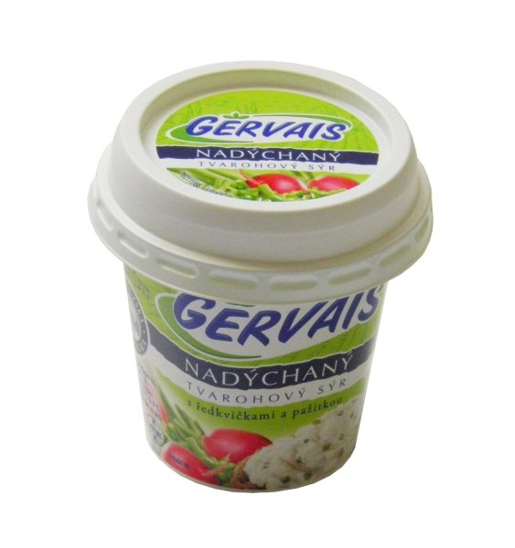 Gervais fluffy cottage cheese with radish and chives