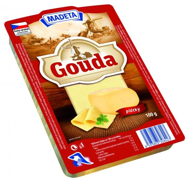 Gouda 48% slices Madeta