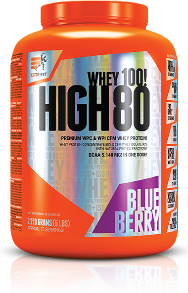 HIGH 80 blueberry Extrifit