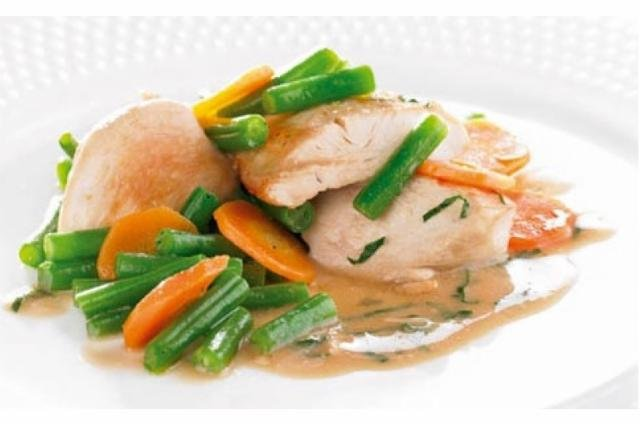 Chicken breasts with tarragon Victus