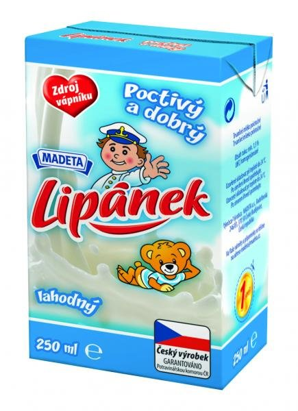 Lipánek delicious milk semi-durable 1.5% Madeta