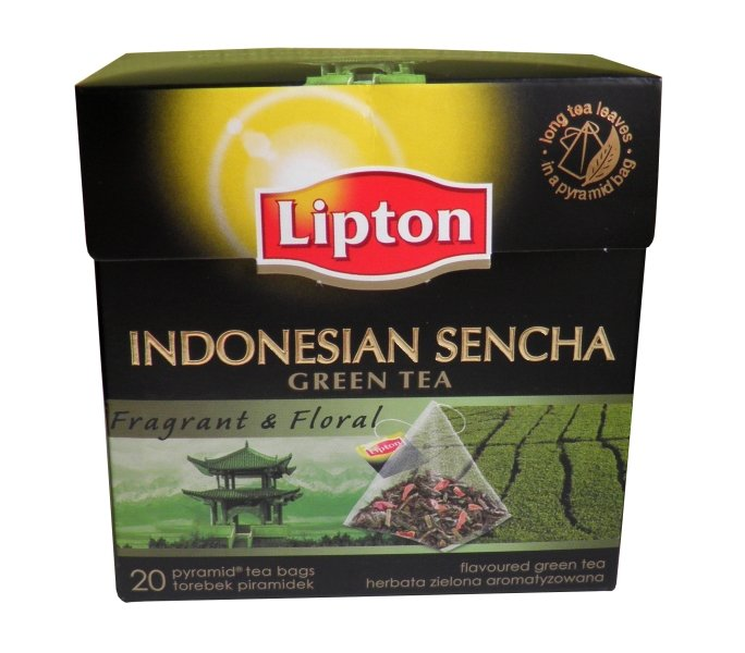 Lipton Indonesian Sencha green tea fragrant floral &