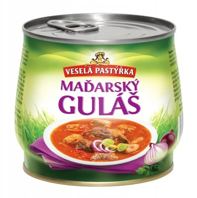 Hungarian goulash Cheerful pastýřka
