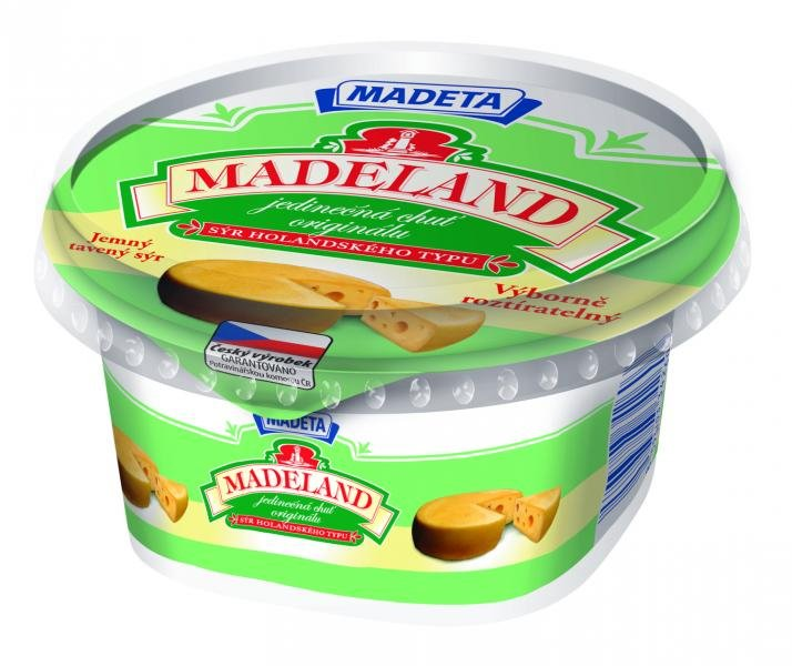 madeland cream cheese 40 madeta calories nutrition