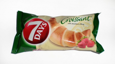 croissant with strawberry filling 7days