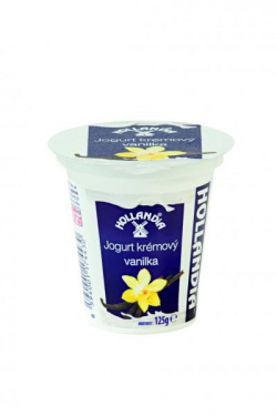 creamy vanilla yogurt Hollandia