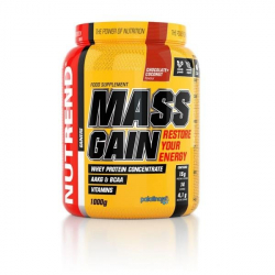 Mass gain + chocolate cocoa, chocolate-coconut Nutrend
