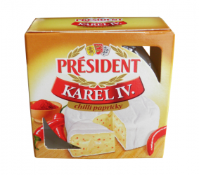 Président Camembert chili peppers