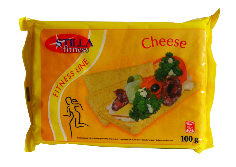 Still fitness line delicate slices of cheese