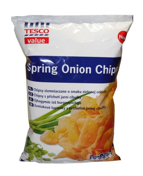 Spring Onion Chips Tesco