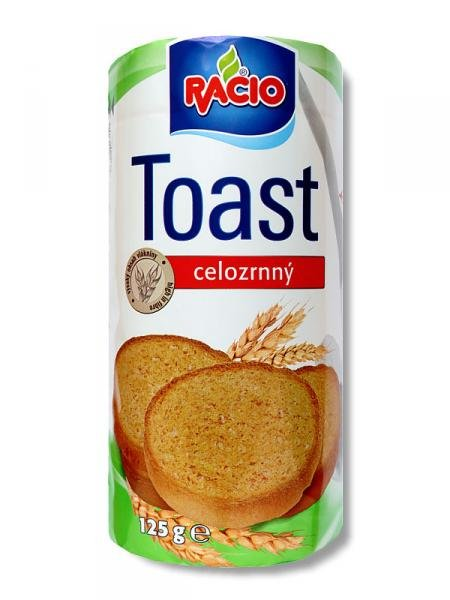 whole wheat toast Racio