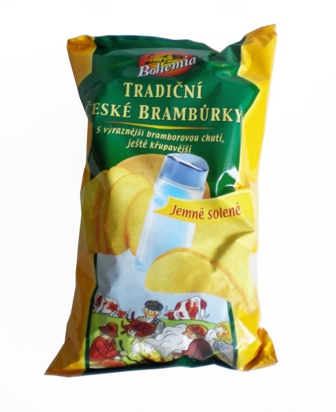 Traditional Czech Bohemia Chips lightly salted