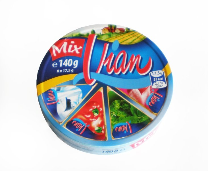 Vian Mix cream cheese spread, pepper, herb, ham