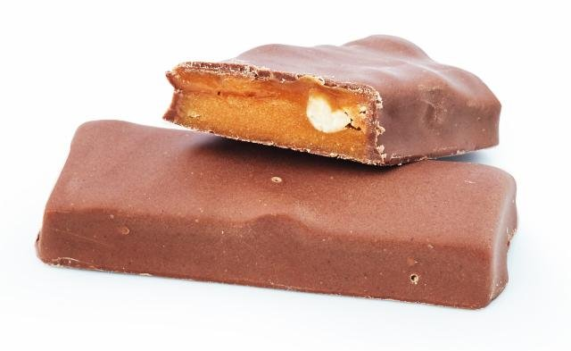 Bar with peanuts and caramel Victus